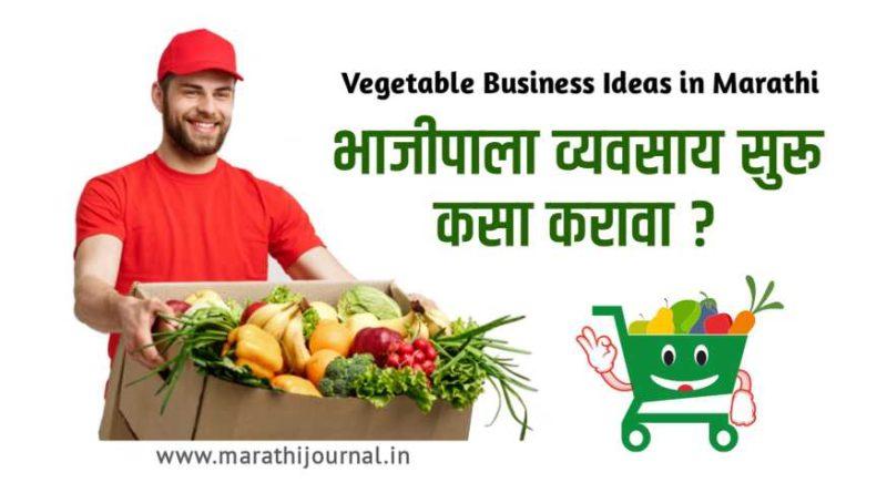 भाजीपाला विक्री व्यवसाय कसा करावा | Top Vegetable Business Ideas in Marathi